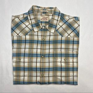 LUCKY BRAND XL CLASSIC FIT BUTTON DOWN